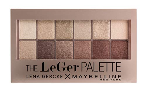 Maybelline New York LeGer Limited Edition The Blushed Nudes Palette, 12 g