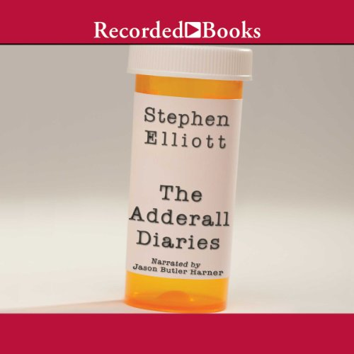 The Adderall Diaries audiobook cover art