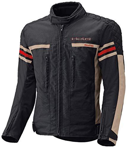 Held Jakk - Giacca sportiva da moto, colore: nero/beige, taglia S