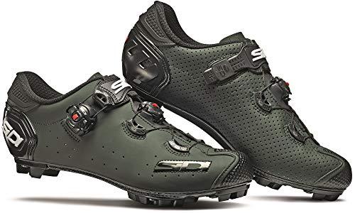 Sidi Jarin - Zapatillas de ciclismo para hombre, color verde oliva, verde (Olive Green), 38 EU