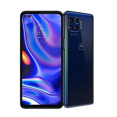 Motorola One 5G | 2020 | Unlocked | Made for US by Motorola | 4/128GB | 48MP Camera | Blue
