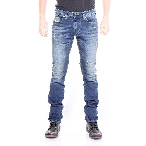 Diesel Thavar-NE JoggJeans 0662L Herren Jeans (Blau, W26)