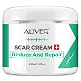 Scar Removal Cream For Old Scars, Stretch marks Scar Gel Treatment, Face Acne Scar Cream for Men and Women Remover Repair Skin Scar ,Surgical Scars, Burns on legs, arm -1.7 fl.oz