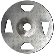"Schluter KERDI-BOARD-ZT - Galvanized Steel Washer - 1-1/4"" Diameter - Quantity: 1000"