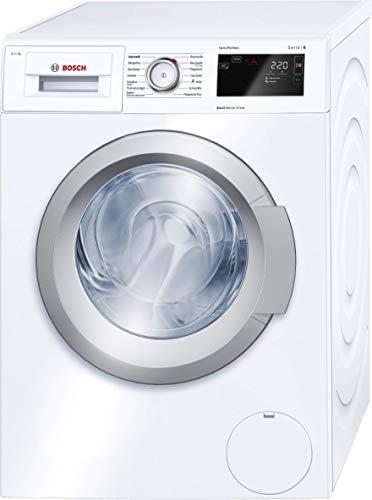 Bosch WAT28640 Serie 6 Waschmaschine Frontlader / A+++ / 137 kWh/Jahr / 1400 UpM / 8 kg / Weiß / i-DOS™ / EcoSilence Drive™
