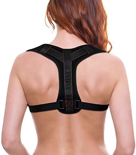 BACAKSY Haltungskorrektur, Geradehalter zur Haltungskorrektur Rückenstütze Haltungskorrektur Unterhemd für Rücken Schulter Haltungstrainer für Damen Herren Schulterträger Rückenstabilisator