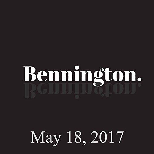 Bennington, Steven Van Zandt and Dan St. Germain, May 18, 2017 audiobook cover art