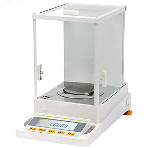 Chutd Digitale weegschaal, hoge precisie, 120 g/0,0001 g, voor laboratorium, farmaceutische producten, sieraden, chemicaliën, fabriek, school, 220 V