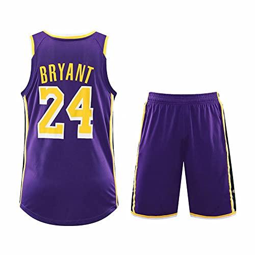 TINKOU Uniformes De Baloncesto De La NBA, Camisetas Y Pantalones Transpirables De...