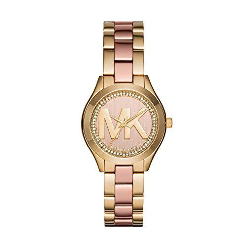 Michael Kors Reloj Analogico para Mujer de Cuarzo con Correa en Acero Inoxidable MK3650