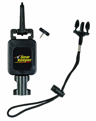 Hammerhead Industries Gear Keeper Wading Staff Tether RT4-1072 - Features Combo Mount  Snap/Threaded Stud - with QC-II Lanyard Accessory  Made in USA