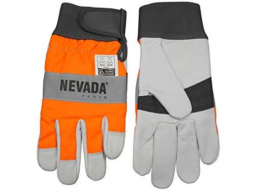 Nevada Schnittschutz Handschuhe Größe S / 8 - Forsthandschuh für Motorsäge/Kettensäge
