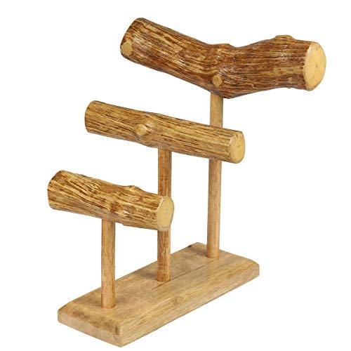 Oriental Galerie Schmuckständer Schmuckhalter Armbandhalter Uhrenhalter Armreifhalter Uhrenständer Armbandständer Schmuckständer Holz in Natur