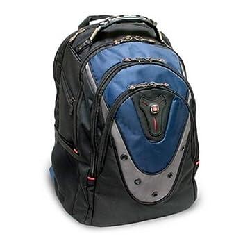 SwissGear Ibex GA-7316-06F00 Carrying Case  Backpack  for 17 Notebook - Blue  GA-7316-06F00