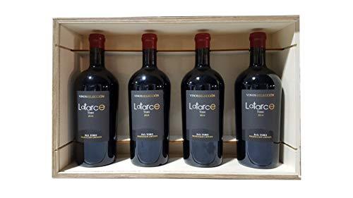 Caja Madera 4 Botellas Vino Latarce Selección 2014 | Vino