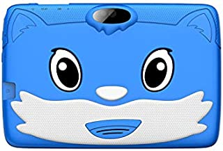 Lenosed Kids Tab A73, Tablet 7 inch, Android 8.1.0, 16GB, 2GB DDR3, Wi-Fi, Quad Core, Dual Camera, (blue) Free Gift Box
