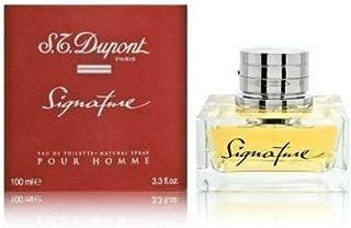 St Dupont Signature 3.4 Oz Eau De Toilette Spray for Men