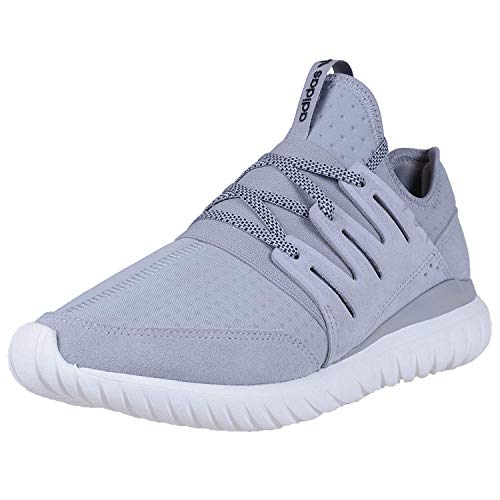 adidas Men's Tubular Radial Light Grey/Black-Vintage White S80112 Shoe 13 M US Men