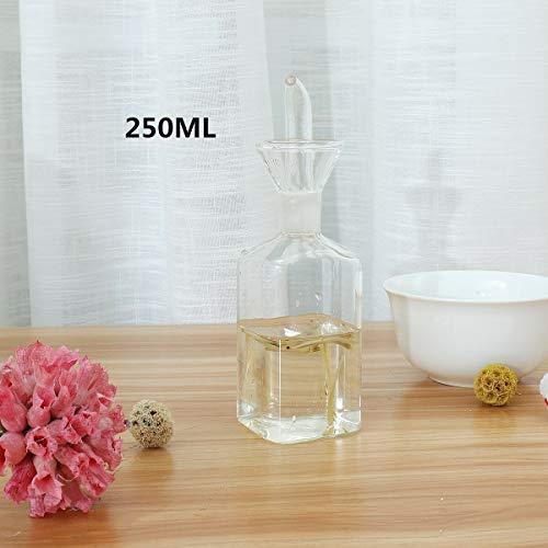 xingxing Industrial Hardware - Dispensador de aceite de oliva (125 – 500 ml, botella de vinagre, herramienta de cocina (color: 250 ml)