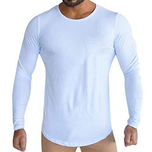 Aiserkly Herren Jjeunion Knit Crew Neck Noos Pullover Sweatshirt Jogginganzug Sportanzug Männer Basic Sweater Weiß M