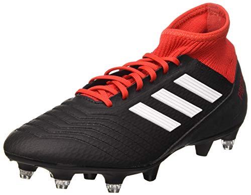 adidas Herren Predator 18.3 SG Fußballschuhe, Schwarz (Negbás/Ftwbla/Rojo 001), 42 EU