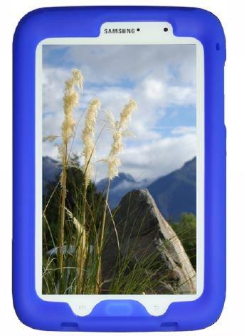 Bobj Silikon-Hulle Heavy Duty Tasche fur Samsung Galaxy Note 8 Tablet, Modelle GT-N5100, GT-N5110, GT-N5120 - BobjGear Schutzhulle (Blau)