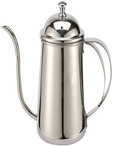 SJQ-coffee pot CafetièRe Expresso de Haute Qualité - Casserole en Acier Inoxydable - 650 ML - Casserole pour ThéIèRe au Goutte à Goutte - 5 Tasses - Trous D'AéRation - Usage Domestique - Multicolore