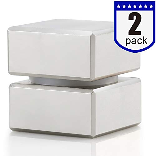 40x40x20mm Super Strong Neodymium Block Magnet, N52 Permanent Magnet Disc, The World's Strongest and Most Powerful Rare Earth Magnets - Pack of 2