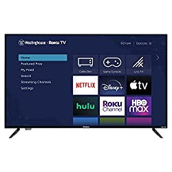 """top rated Westinghouse 50 """"Roku 4K Ultra HD LED Smart TV with HDR 2021"""