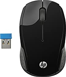 HP 200 Wireless Mouse (Black),hp,HP 200,bluetooth mouse,dell mouse,hp mouse,logitech mouse,logitech wireless mouse,mouse,mouse for computer wired,mouse for laptop,mouse for laptop wireless,wired,wireless mouse,wireless mouse for laptop