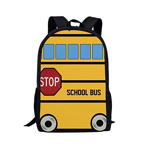 fhdc Rucksäcke Kawaii Kreative Schulbus Schultaschen Niedlichen Cartoon Kinder Schultaschen 3 Stücke Kinder Campus RucksäckeHmb414C