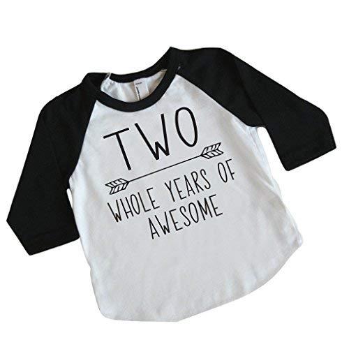 Amazon Second Birthday Boy Shirt 2nd For Boys 2T Baby