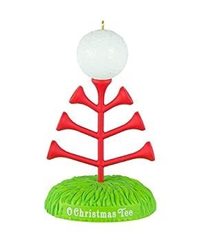 Hallmark Keepsake Ornament O Christmas Tee Golf 2016