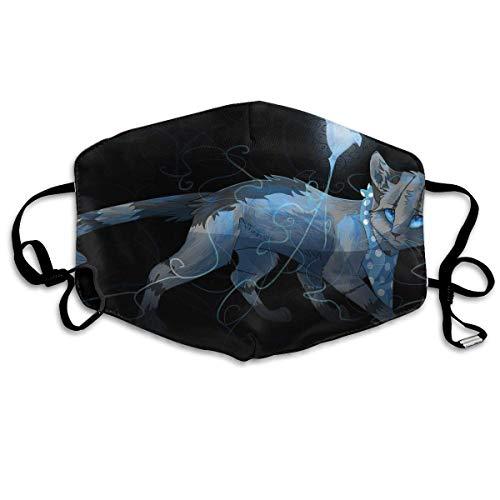 Polyester Anti-Dust Mond Masker - Mysterieuze Constellatie Weegschaal Art Gewassen Herbruikbare Mond-Muffel - Mode Gedrukte Gezichtsmaskers voor Outdoor Fietsen Eén maat Mooie kat grappige prints