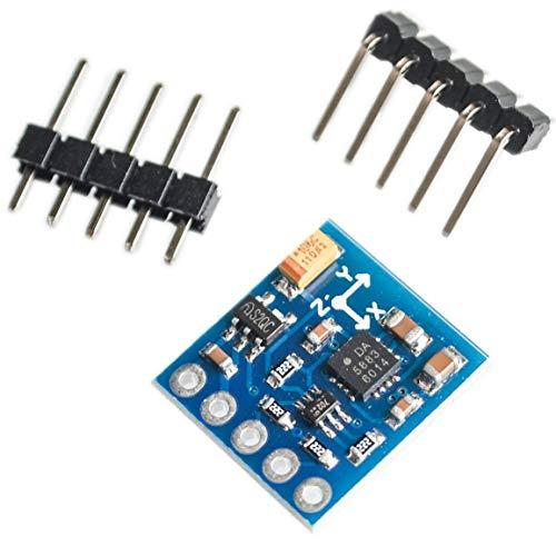 GY-271 QMC5883Lモジュール電子コンパスコンパスモジュール3軸磁場センサー