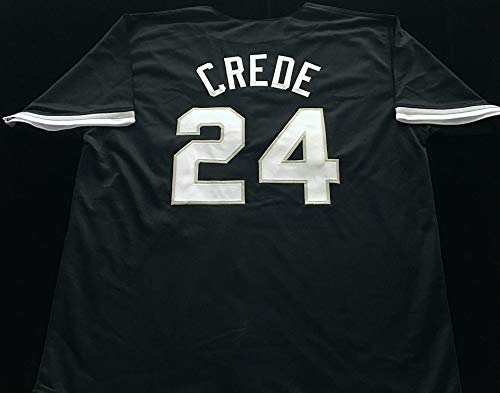 Joe Crede Black Baseball Jersey (Unsigned) - Chicago White Sox Great - Size XL