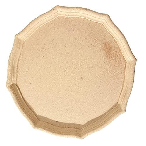 VALICLUD Bandejas de Joyería Vintage de Baratija Retro Caja Organizadora de Maquillaje Bandeja de Exhibición de Joyería Bandeja de Fotografía Caqui