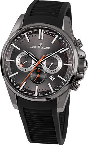Jacques Lemans Liverpool Reloj de Hombre Cuarzo 44mm dial Gris 1-1799M