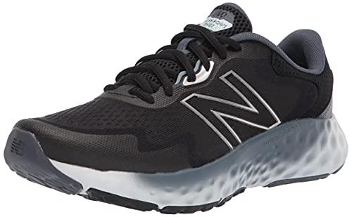 New Balance MEVOZV1 Zapatillas para Correr, Negro (Black/Gray), 42 1/3 EU