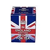New English Teas Union Jack Slogans Carton Teabags, English Breakfast Tea, 1 Count