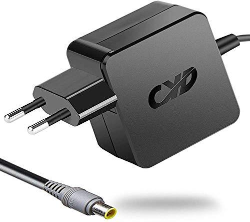 CYD 65W 20V 3.25A PowerFast Notebook-Netzteil für Lenovo-ThinkPad X60 X61 X60S X61S X61T X60T X200 X201 X200S X200t X200I X220 X220S X220t X220IT, 8.2 Ft Laptop-AC-Ladegerät-Kable