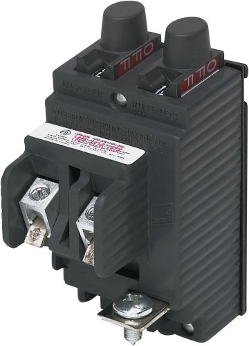UBIP2020 New Pushmatic P120 Replacement. One Pole 20 Amp Circuit Breaker Manufactured by Connecticut Electric