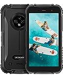 Rugged Smartphone, DOOGEE S35 [2021] Telefono Indistruttibile 4350 mAh Batteria, 4G Cellulare Economici Android, Fotocamera Tripla da 13 MP, 16 GB, 5 Pollici HD+, IP68 / IP69K Cellulari, NFC, GPS