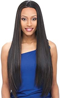 Janet Collection Whole Lace Wig Synthetic Hair - Elf - 1B
