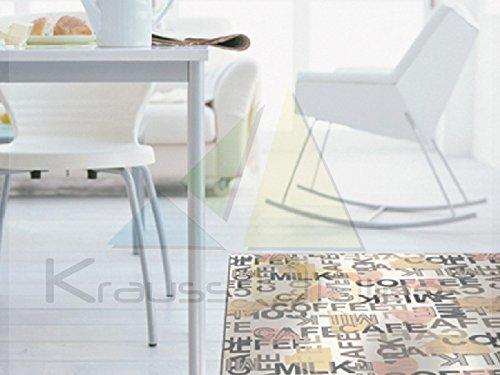 Catral 40020024 Tapis Cuisine et Couloir café, Multicolore, 2500 x 67 x 0.5 cm