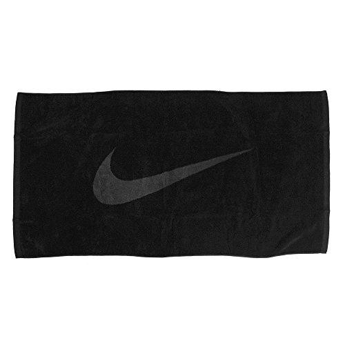 Nike - Asciugamano sportivo (nero/antracite, medio)