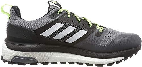 adidas Herren Supernova Trail Traillaufschuhe, Grau (Grey/Footwear White/Core Black 0), 41 1/3 EU