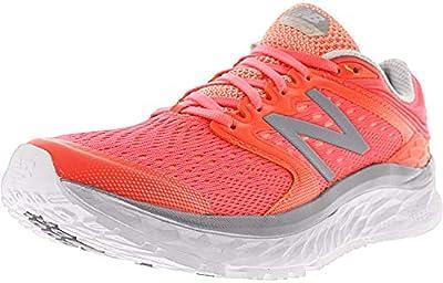 New Balance Women's Fresh Foam 1080v6 Running Shoe, Blue/White, 5 D US