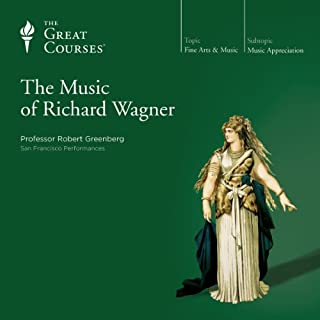 The Music of Richard Wagner audiobook cover art