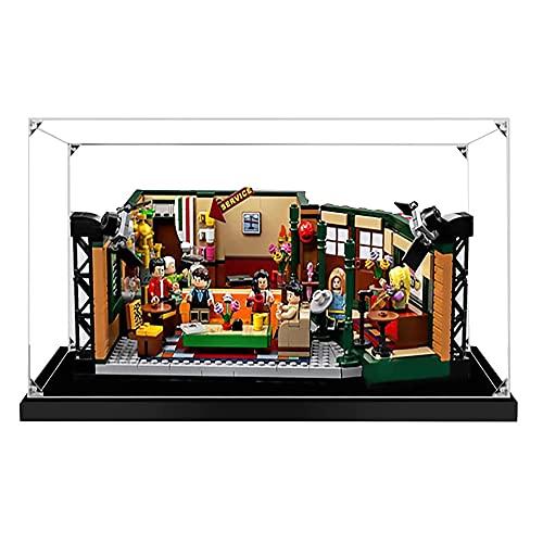 ZHLY Vitrine Antipoussière Display Case Compatible avec Lego Central Perk 21319 (Lego Modèle Non Incluse)